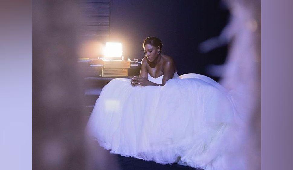 L'incroyable mariage de Serena Williams en images
