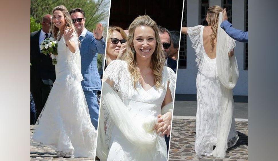 Laura Smet : look bohème et voile XXL... Une mariée chic et tendance !