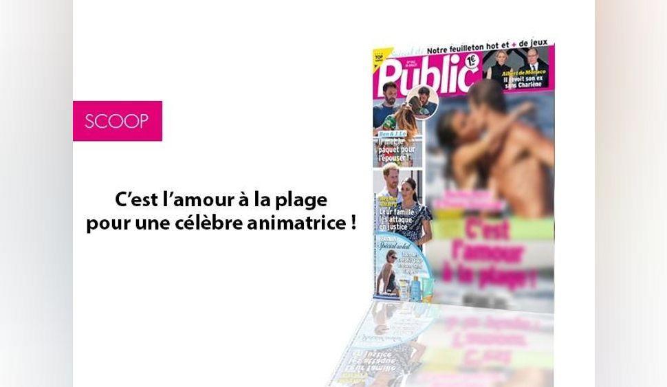 Magazine Public – C'est l'amour à la plage pour une célèbre animatrice!
