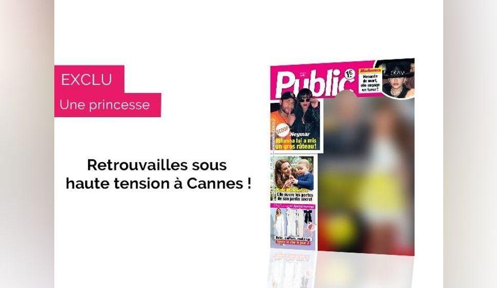 Magazine Public – Scoop – Retrouvailles sous haute tension pour ces deux ex à Cannes.