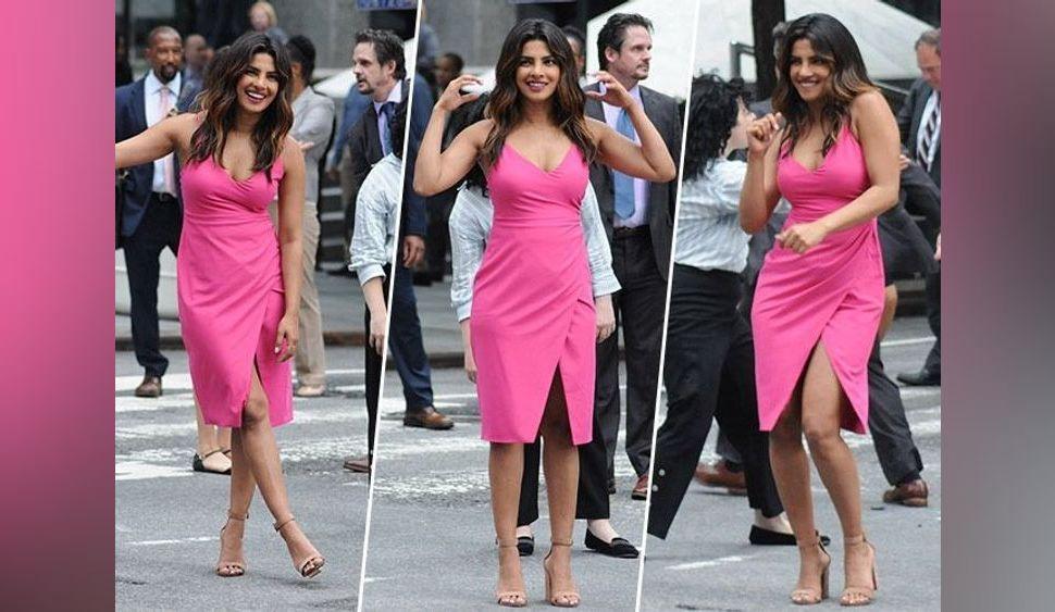 Priyanka Chopra : On veut la même petite robe rose à fines bretelles !