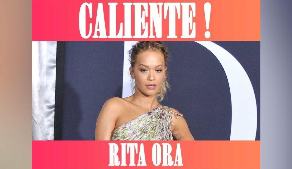 Rita Ora : Torride en bas résilles !