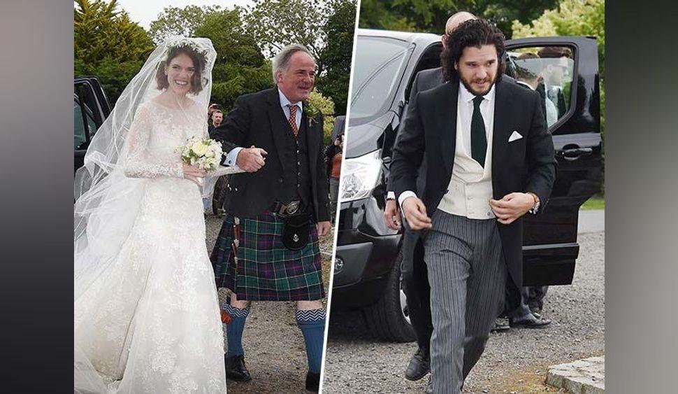 Game Of Thrones : Kit Harington (Jon Snow) et Rose Leslie (Ygritte) sont mari et femme !