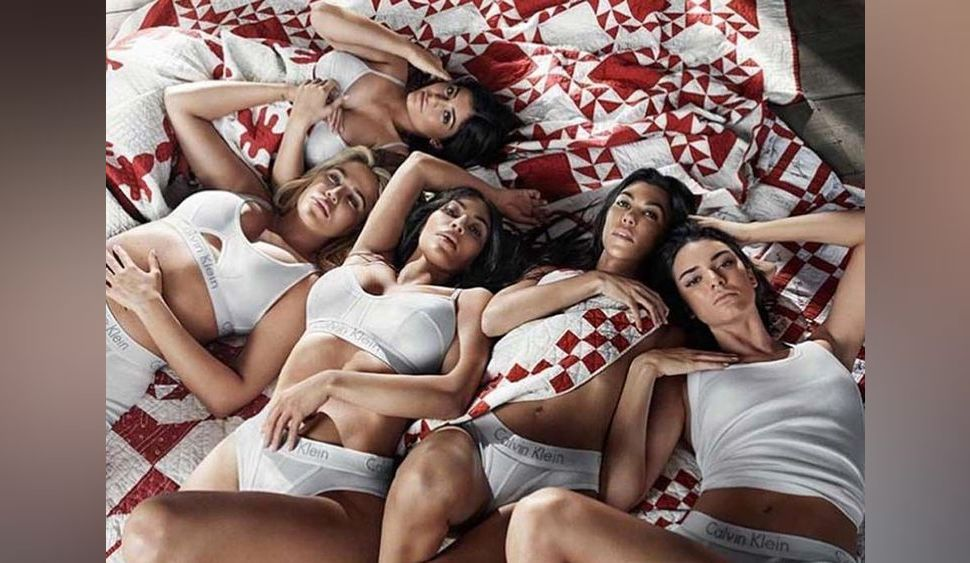 Kim Kardashian et ses soeurs en lingerie pour Calvin Klein... Sauf Kylie Jenner !