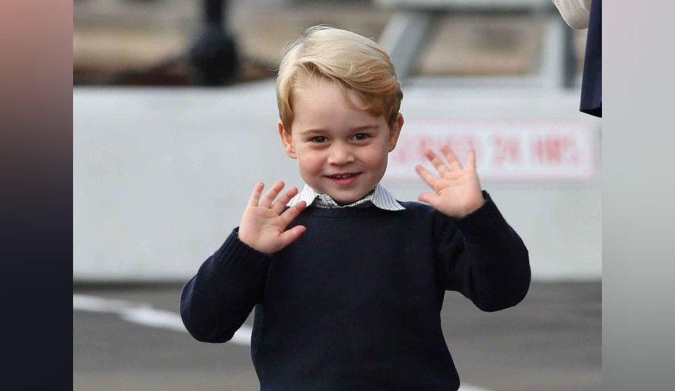 Le prince Charles balance une photo inédite du prince George pour ses 70 ans !