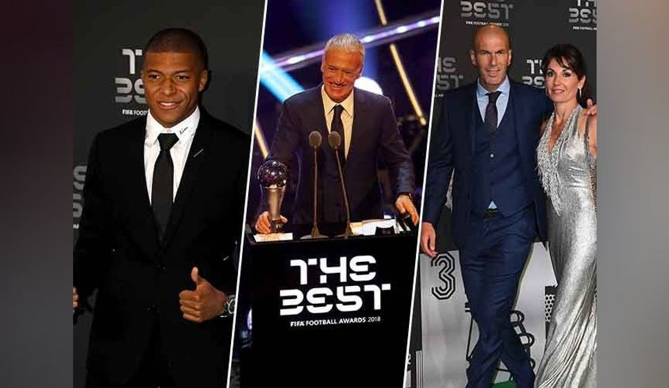Mbappé : sa soirée inoubliable à Londres avec Deschamps et Zidane !
