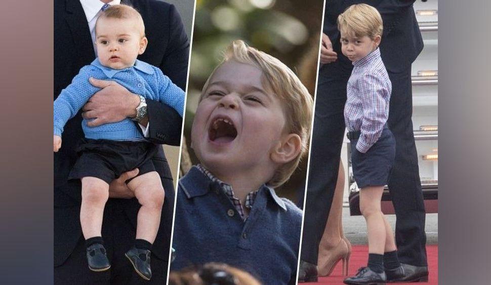 Photos : Joyeux anniversaire Prince George... Retour en images sur une enfance royale