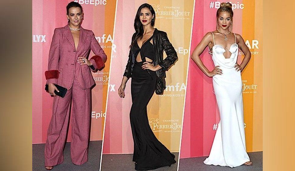 Photos : Pauline Ducruet, Jasmine Sanders, Leïla Ben Khalifa... Tous les plus beaux looks de l'amfAR