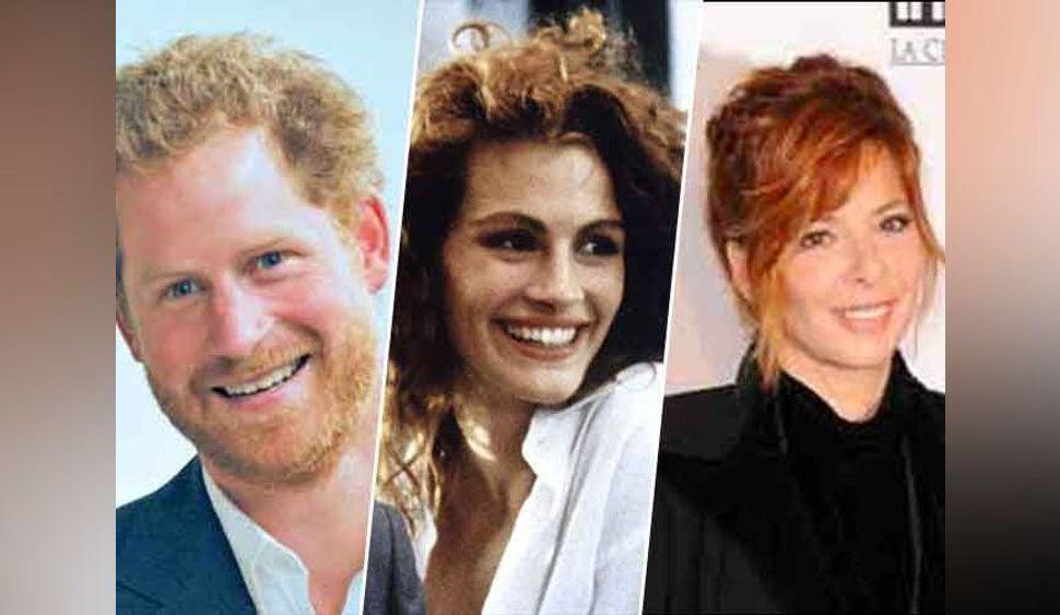 Photos - Journée mondiale des roux : on embrasse le prince Harry, Julia Roberts, et Mylène Farmer !