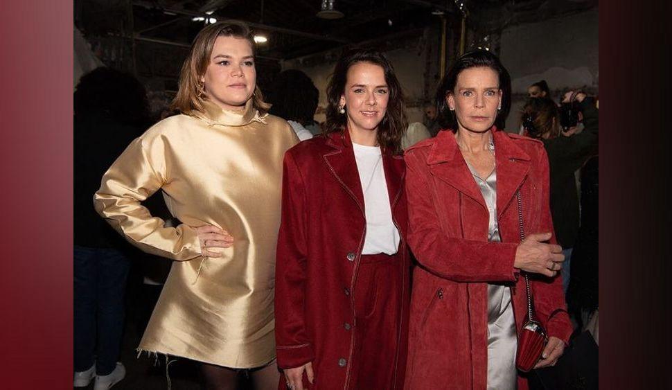 Stéphanie de Monaco pose avec ses filles Camille Gottlieb et Pauline Ducruet : pourquoi le trio était-il à Paris ?