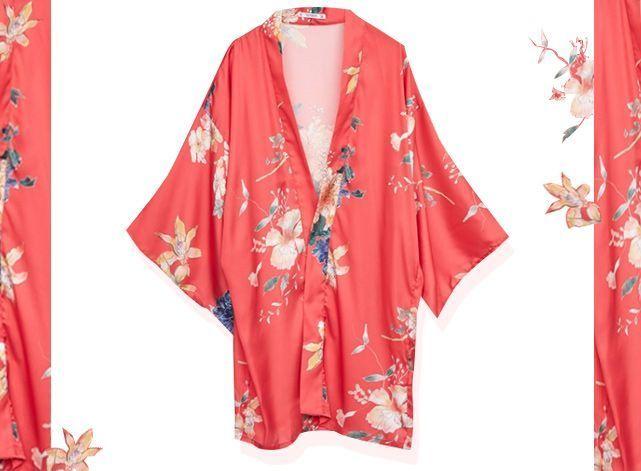 Wanted : le kimono Pull and Bear
