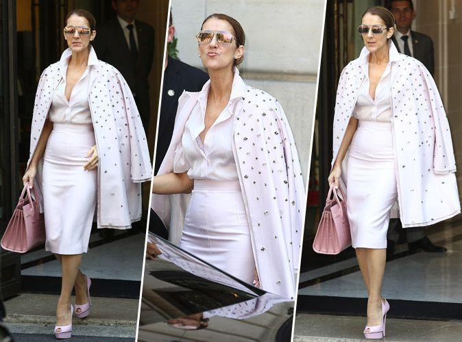 Céline Dion : tenue glam' et sac griffé, c'est un sans-faute !