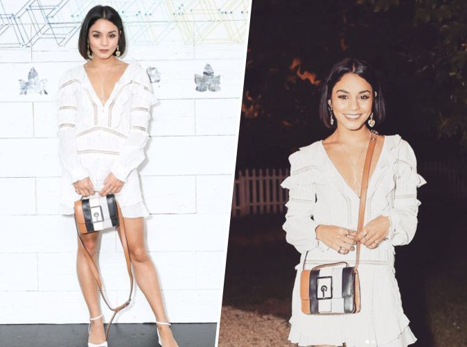 Vanessa Hudgens : petite robe blanche pour un look de gypset, on craque !