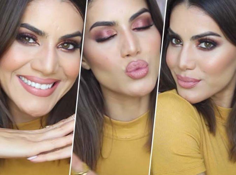 Camila Coelho : un make-up chaud, idéal pour l'été !