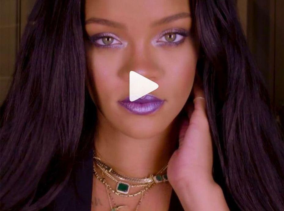 Fenty Beauty : Rihanna vient de publier son tout premier tuto Youtube... et on adore !
