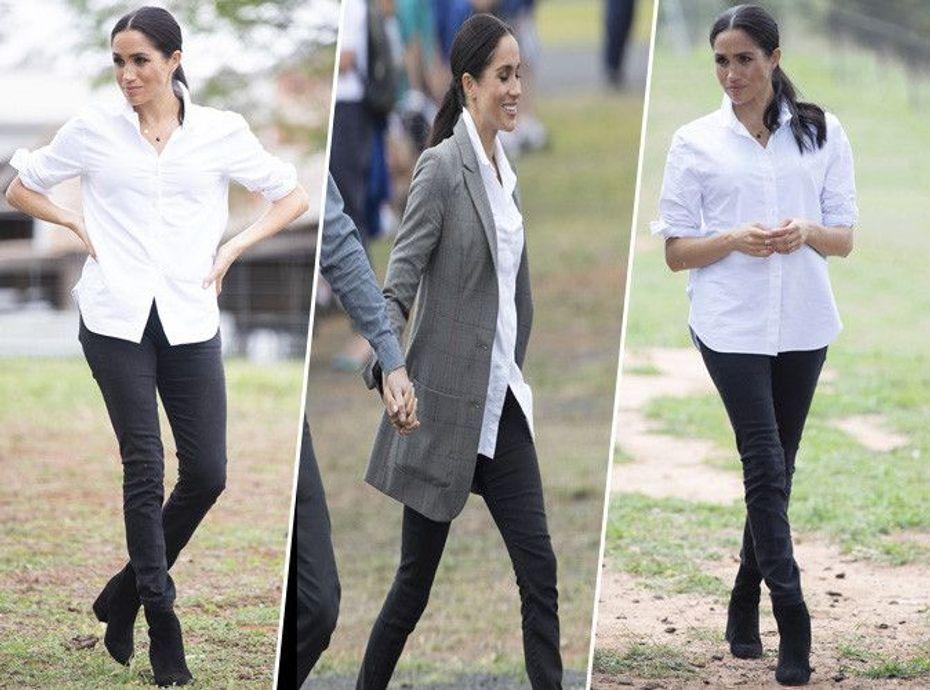 Meghan Markle : chic et casual, on craque pour son look minimaliste !