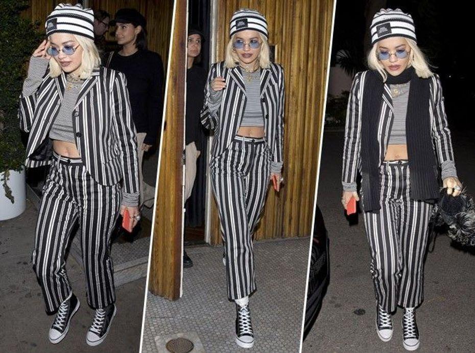 Rita Ora : mais c'est quoi ce look ?