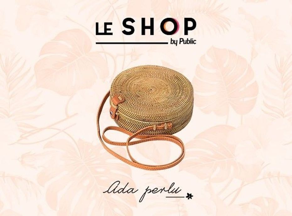Shopping : on craque pour le sac en rotin Ada Perlu