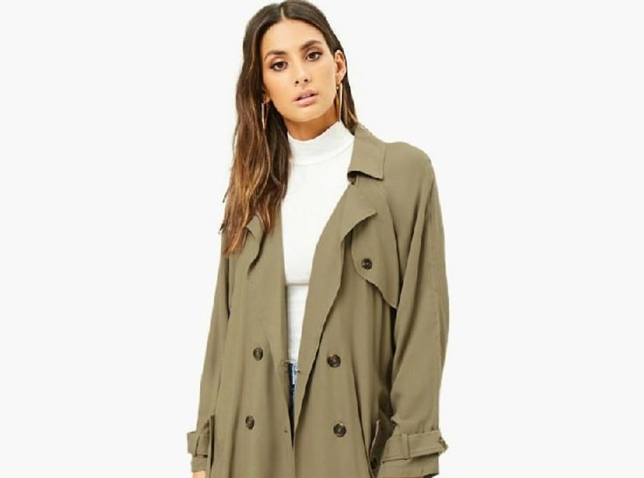 Wanted : le trench coat kaki Forever 21
